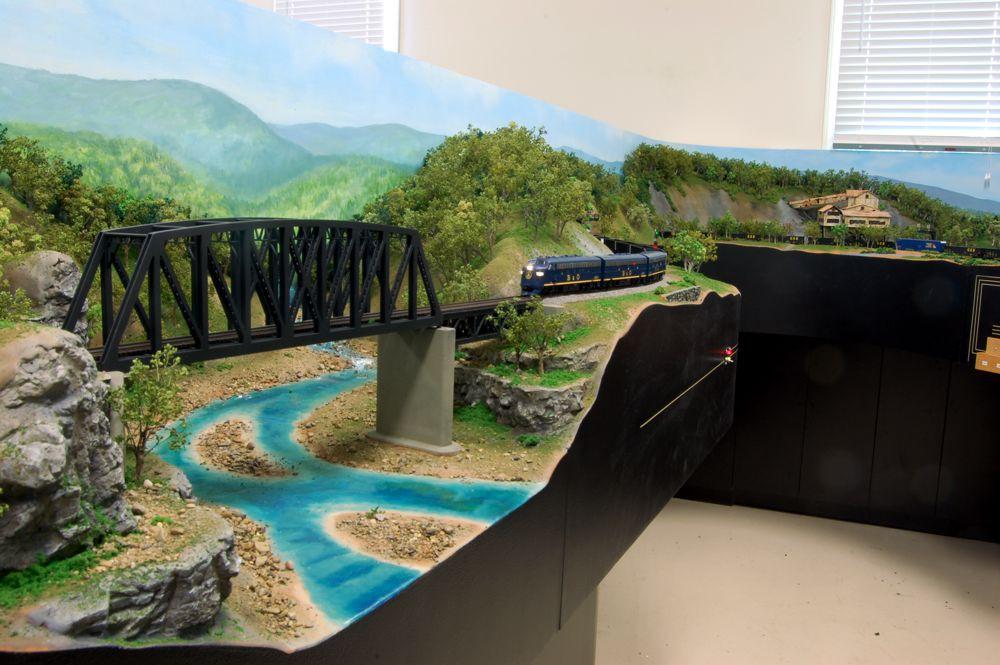 Custom Model Railroads Ho Scale Layout
